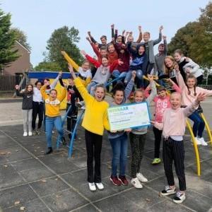 Kinderen zetten 35.000 groene voetstappen voor een beter klimaat