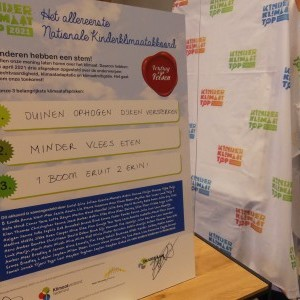 Kinderen schrijven geschiedenis: eerste Kinderklimaatakkoord een feit